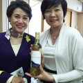 安部首相夫人安部昭恵様、加藤大臣っ婦人加藤周子様とHAKUBI
